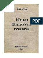 Vuia, Ovidiu - Mihai Eminescu - 1889-1989