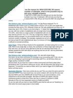 DCR KPI RElated Problem