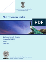 Nutrition in India [OD56]