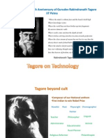 Tagore on Technology