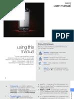 Samsung Jet s8000 User Manual