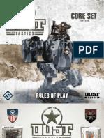 Dust Tactics Rulebook