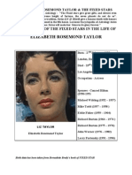 Elizabeth Rosemond Taylor - The Fixed Stars Give Immortality Too