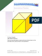 Cube Angle Print Play