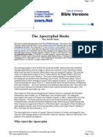 Apocryphal Books