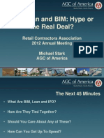 Ipd,Lean and Bim