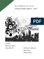 Atestat Morarescu Andrei - Techno Music