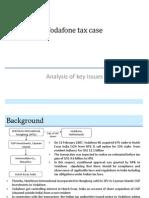 Analysis of Vodafone Tax Case