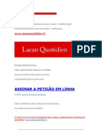 Lacan Cotidiano 167
