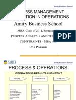 1) Process Management & Operations