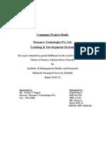 HR Project-Trg & Devlopment