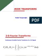 2-d Fourier Transforms