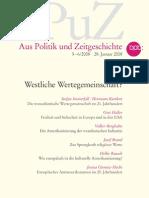 APuZ - Westliche Wertegemeinschaft, B 5-6:2008