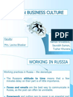 Russian Business Culture