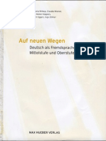 Auf Neuen Wegen Volume 1