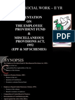 PF & Miscellaneous Provisions Act