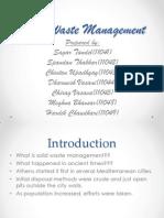 Solid Waste Management Final