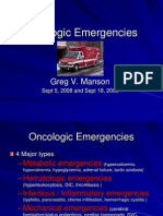 Oncology Emergencies