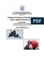 Indigenous Weapons Development in China