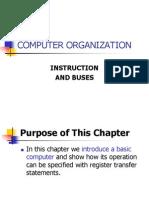 Computer Orginization Instrumentation & Busses
