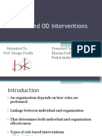 Ch 5_Role Focused OD Interventions