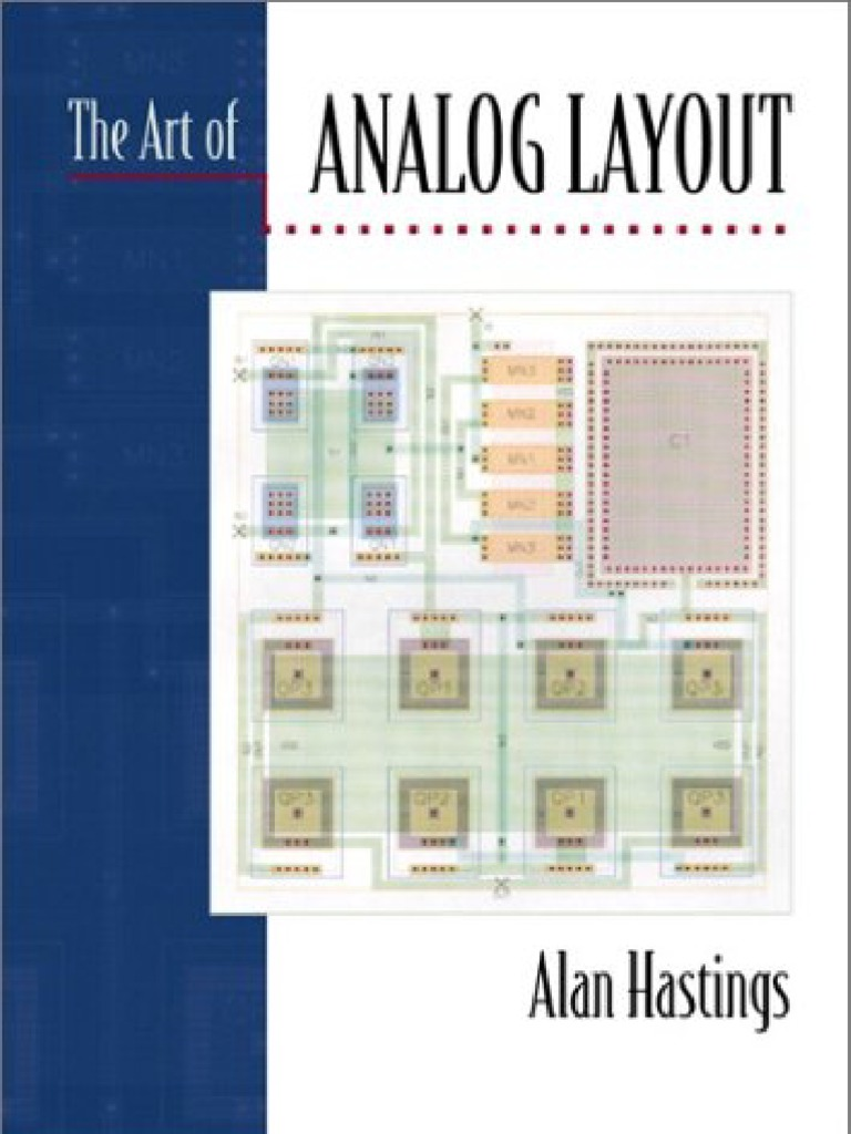 The Art Of Analog Layout Alan Hastings