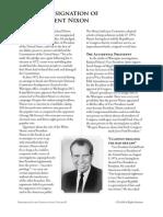 PCII Nixon Resignation Reading
