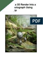 Photoshop Tutorial Integrate a 3D Render Into a Macro Photograph