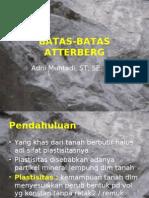 03 Batas-batas Atterberg