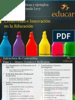 Creatividad e Innovacion en La Educacion