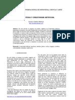 Sinestesia y Creatividad Artificial