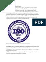 El Estándar de Calidad ISO 9001
