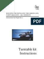 Kit All Turntable Kits