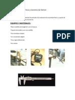 1er Informe Fisica II - Pendulo Fisico y Teorema de Steiner