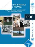 Guía para el instructor en derechos humanos para funcionarios de prisiones