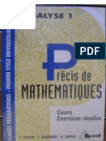 Précis de Mathématique avec 370 Exercices Corrigés