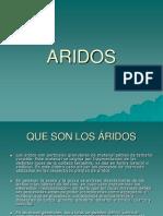Clase de Aridos