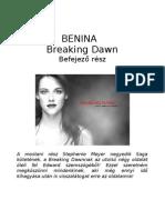 Benina - Breaking Dawn vége Edward szemszögből