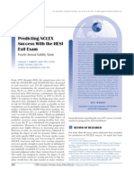 Predicting NCLEX Success With the HESI Exit Exam-4thAnnualValidityStudy