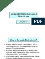 L12 Corporate Restructuring