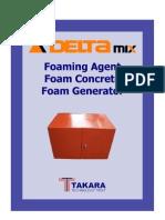 Delta Foam Generator, Foaming Agent Brochures