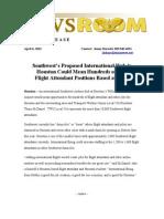 Swa Flight Attendants