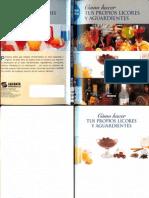 Cocina - Como Hacer Tus Propios Licores y Aguardientes PDF by Chuska {}