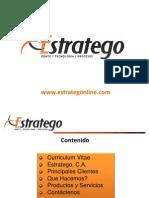 Presentación Negocios Estratego Resumida