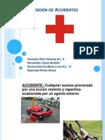 TEMA 22:Prevención de Accidentes