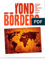 Beyond Borders - San Diego Lawyer Article with Denise