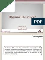 Regimen Democratico