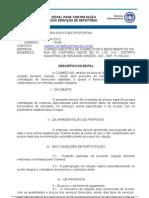 EDITAL N° 001-12_REFEITÓRIO
