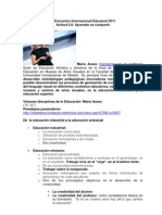 Educ Industrial- Educ artesana María Acaso
