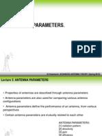 Presentation 3. Antenna Parameters